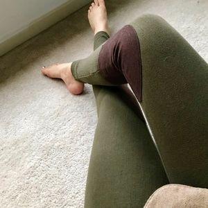 NWOT Ralph Lauren Green Riding Pants Leggings